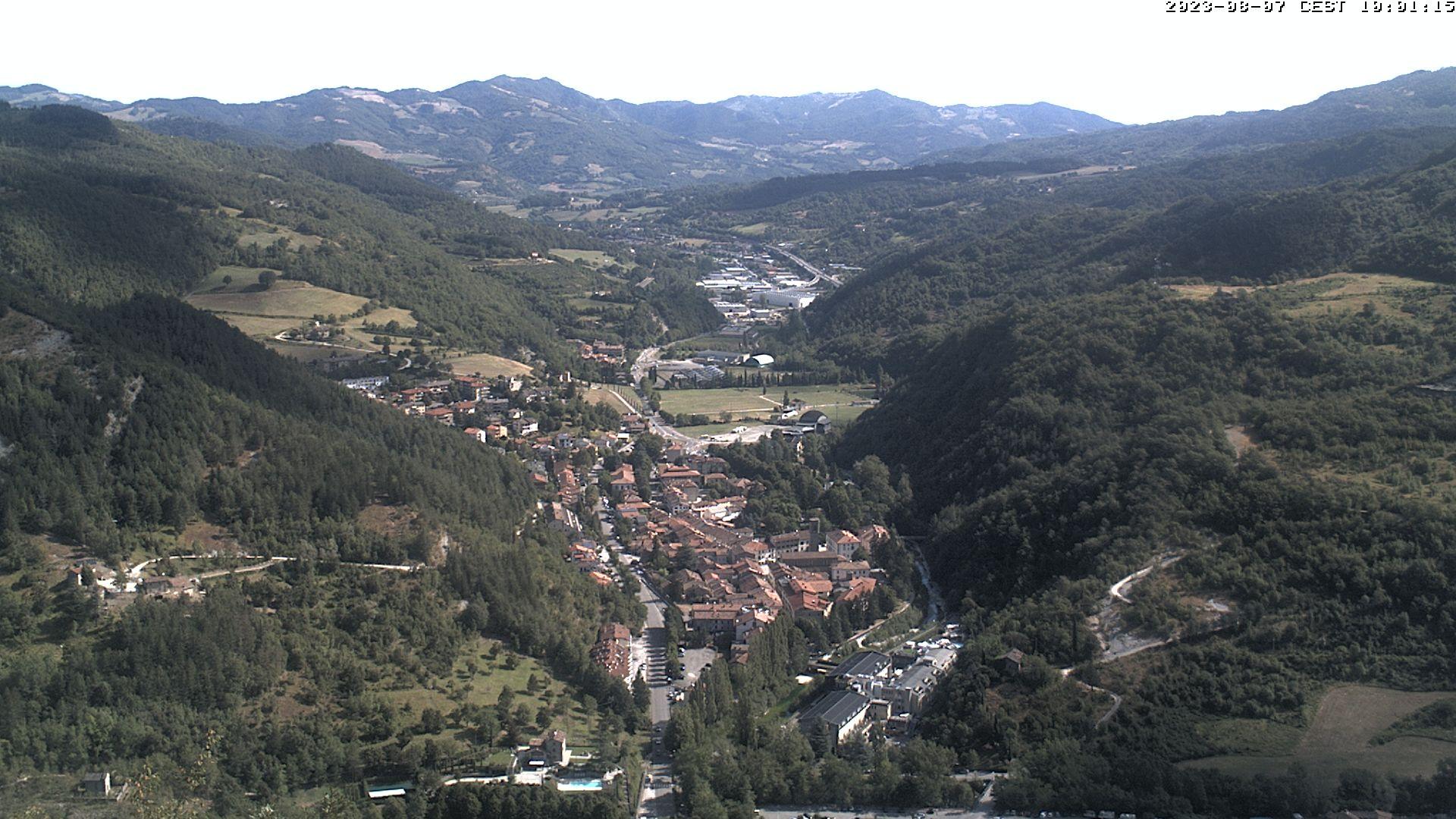 webcam Bagno di Romagna, Valle del Savio